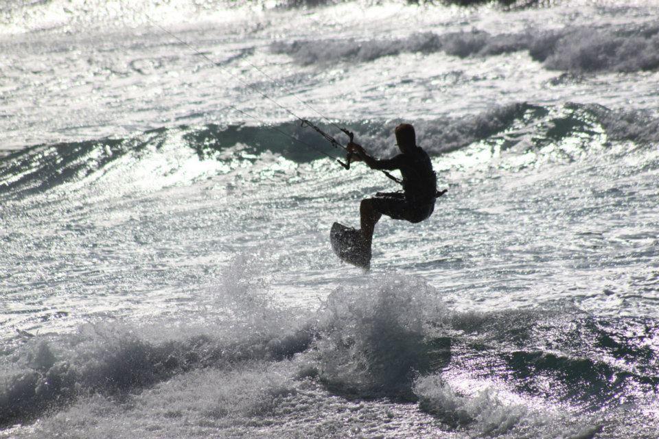 Kitesurfing Chia Sardinia