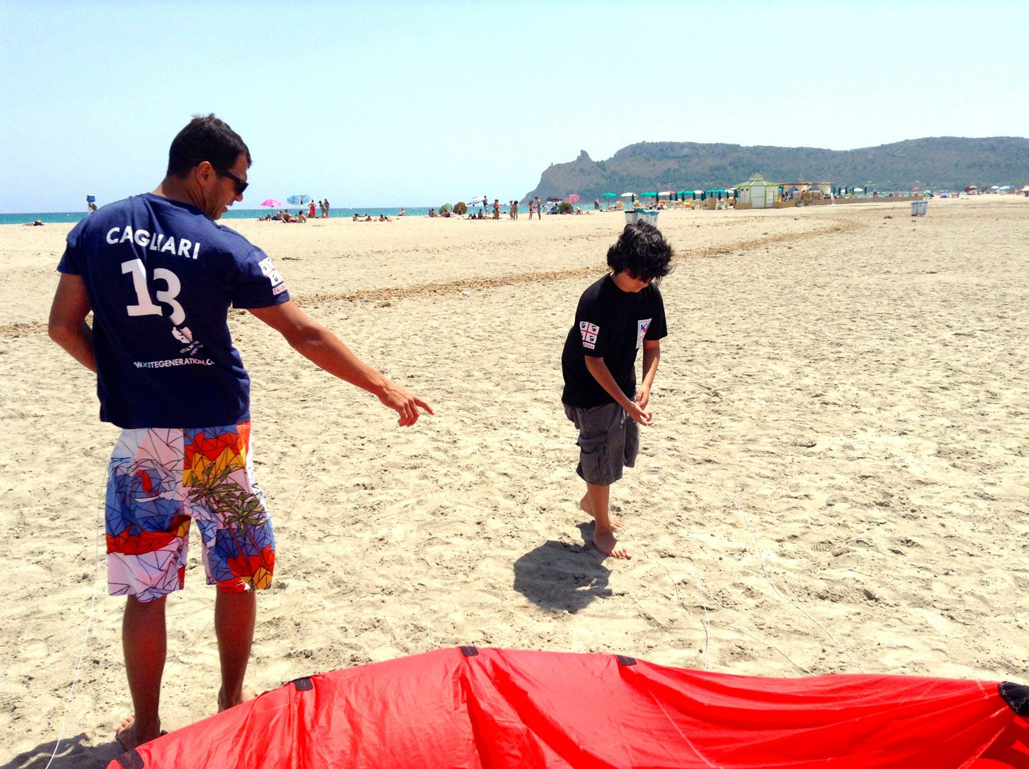 Kitesurfing Course for Children in Cagliari, Sardinia (Italy)