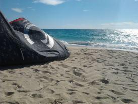 Kitesurfing Geremeas | Cagliari, Sardinia