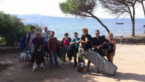 Kite Camp in Sardinia: our Kite Camp is a Package that include Kite Lessons, Accommodation and Trasportation to the kite beaches
