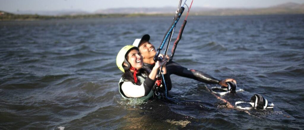 Kitesurfing Lessons in Sardinia: Kite Course for Beginners