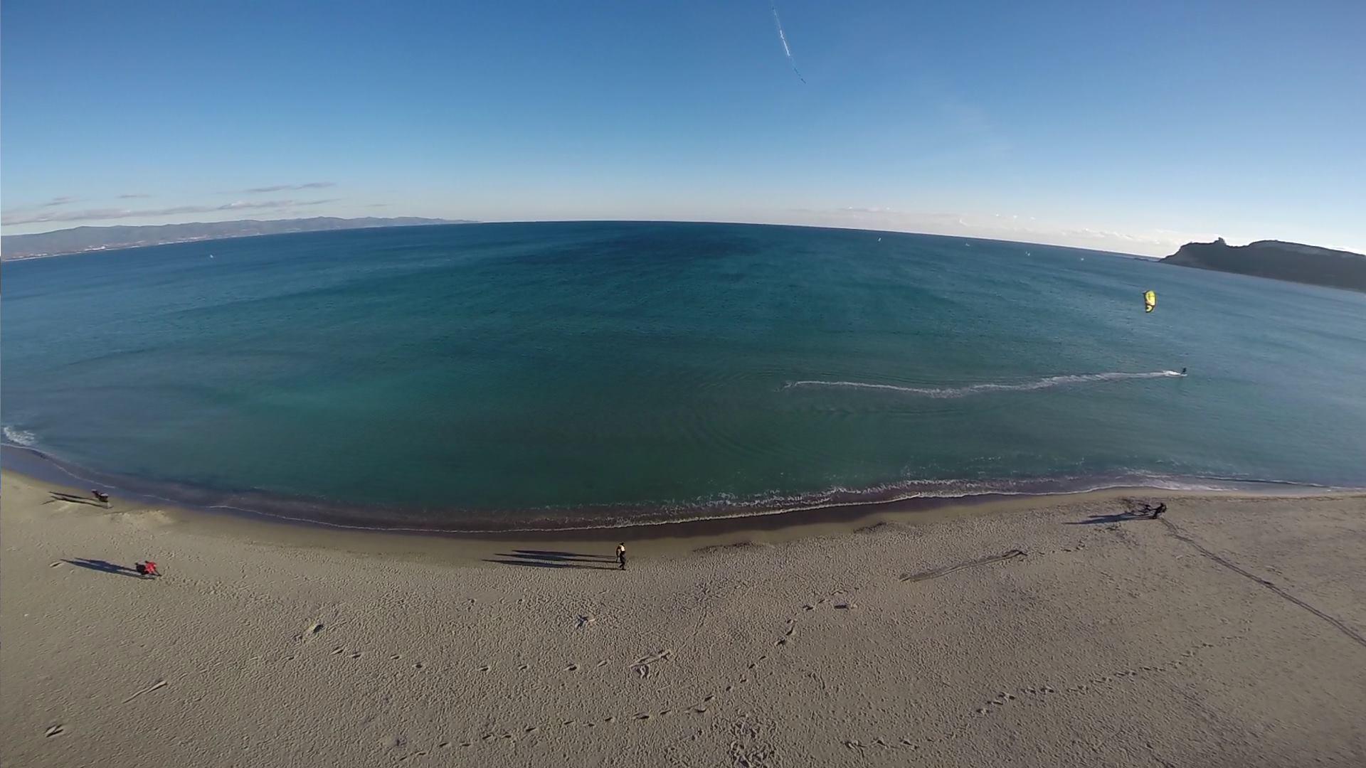 Kitesurfing Poetto Beach Cagliari | Kiteboarding Southern Sardinia
