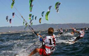 Kiteboard Race World Champioship Cagliari 2012