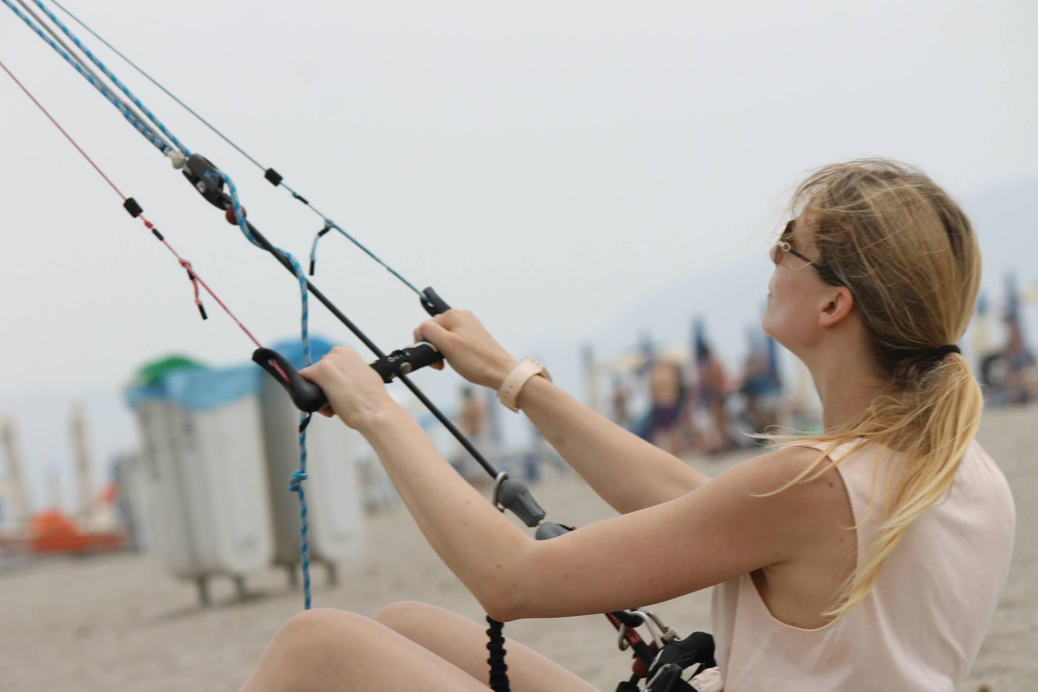 Kitesurfing Cagliari Poetto July 2014