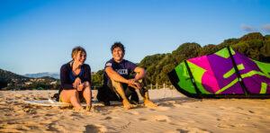Kitesurfing-Chia-Sardinia-November 2014