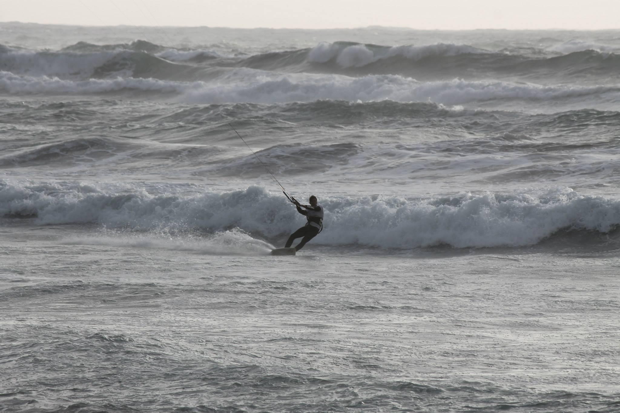 Kitesurfing Funtanamare Sardinia September 2014