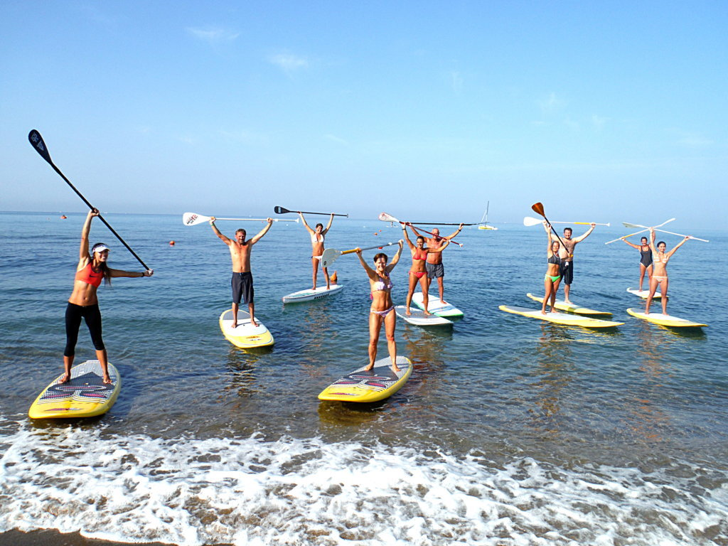 SUP in Sardinia: Tous in Cagliari and Villasimius