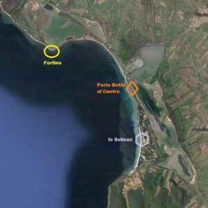Kitesurfing Porto Botte Sardinia kite spots