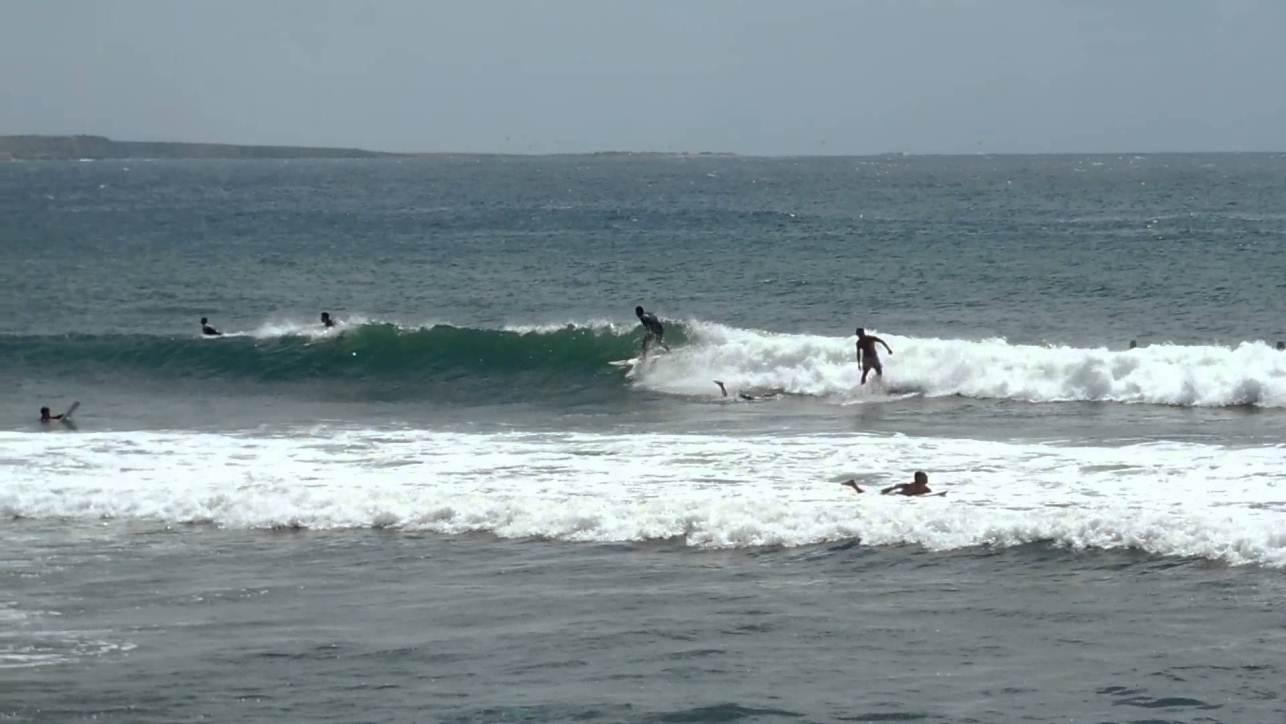 Surfing Sardinia