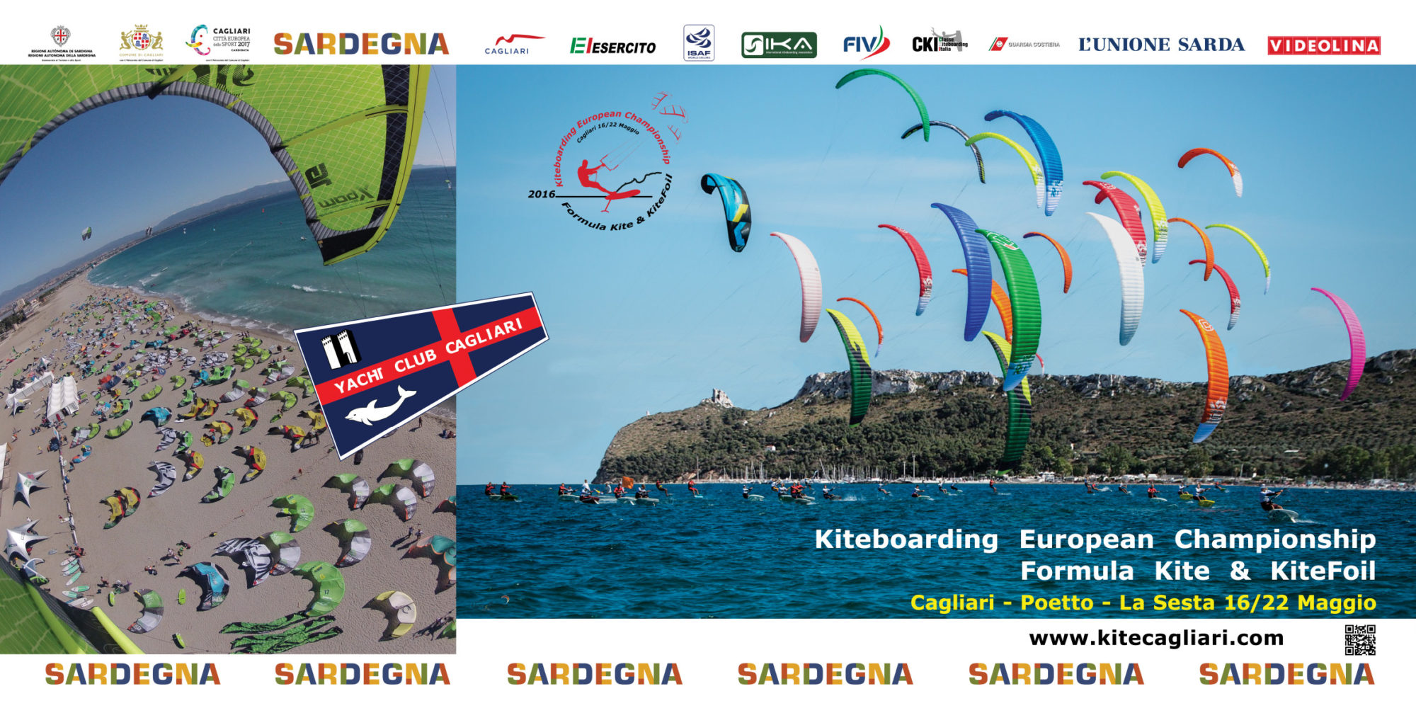 2016 Formula Kite and KiteFoil European Championships 2016 in Cagliari Sardinia