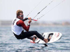 Kite Foil Gold Cup 2016 Gizzeria Italia Maxime Nocher a Cagliari in Sardegna