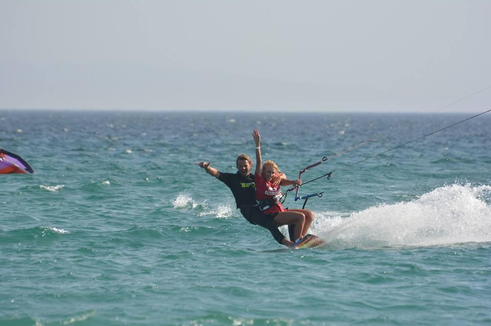 Tandem Kitesurfing Sardinia