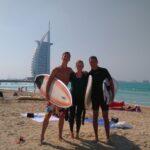 Surfing Dubai