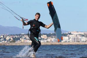 Kite Lessons in Cagliari, Giorgino Kite Beach