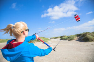 Improve your skills with a Kite Trainer! For Free only with KiteGeneration, Kite school in Sardinia!