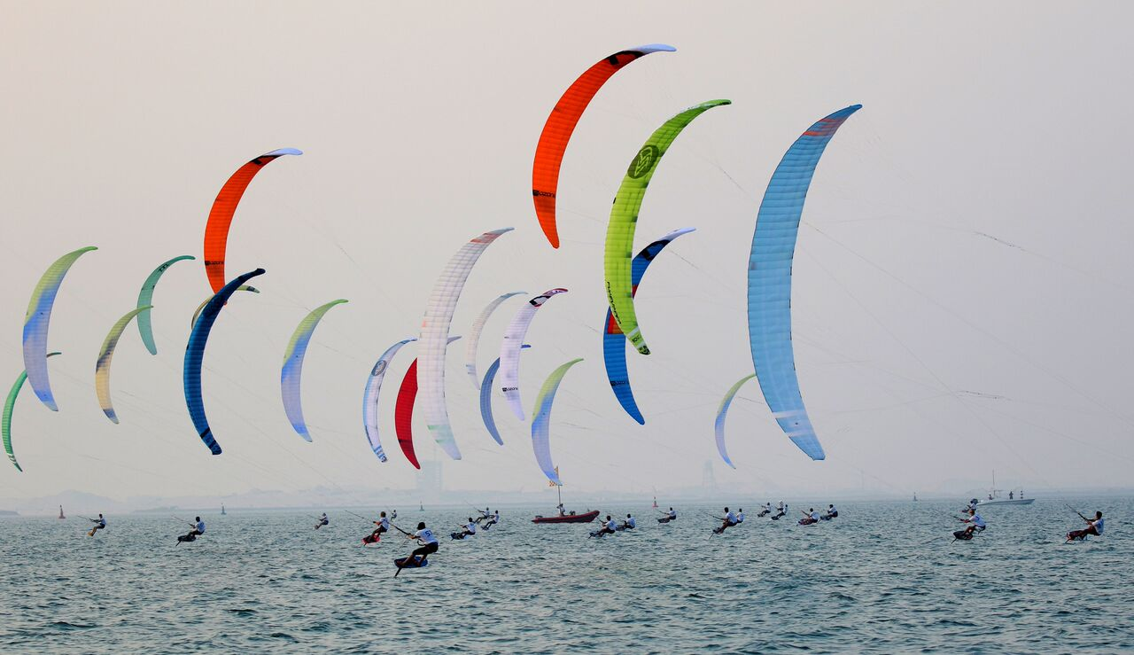 Kite Foil World Championship 2017 in Cagliari, Sardinia