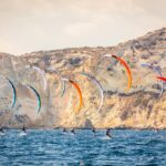 Kite Foil World Champioship 2017 at Poetto Beach in Cagliari, Sardinia