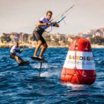 Foil Kite Worlds 2017 at Poetto Beach in Cagliari, Sardinia