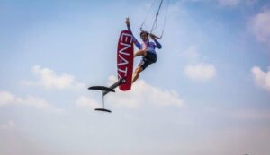 Axel Mazella to the Extreme San Diego Foil Kiteboarding Invitational in San Diego