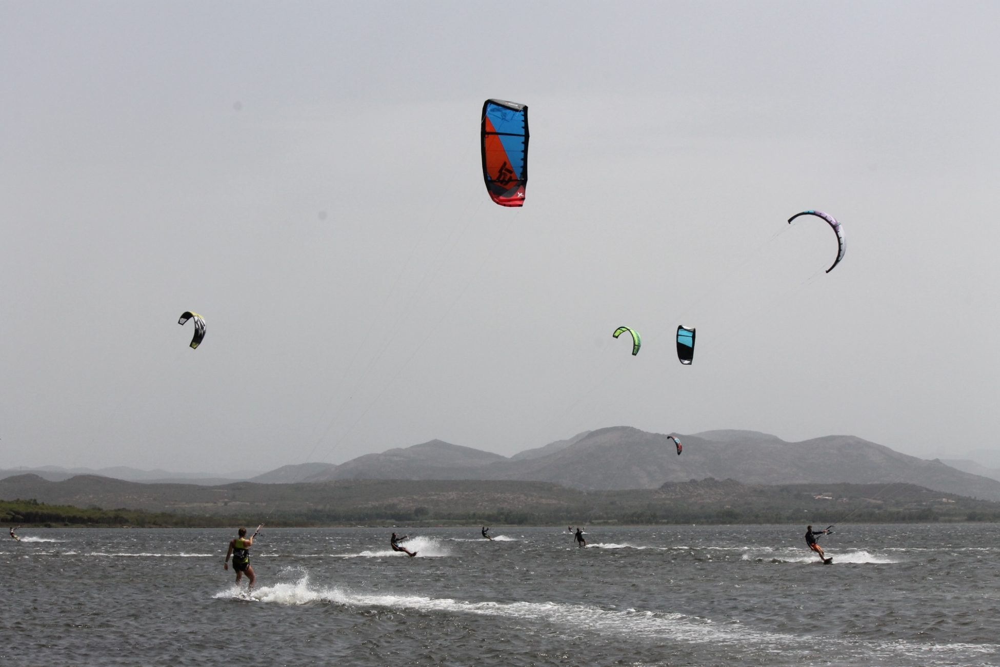 Kitesurfing Punta Trettu, Sardinia. Punta Trettu is one of the Beast Spot to Kitesurf Sardinia