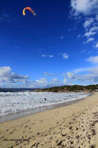 Kitesurfing Sant'Antioco, Spiaggia Grande, Sardinia
