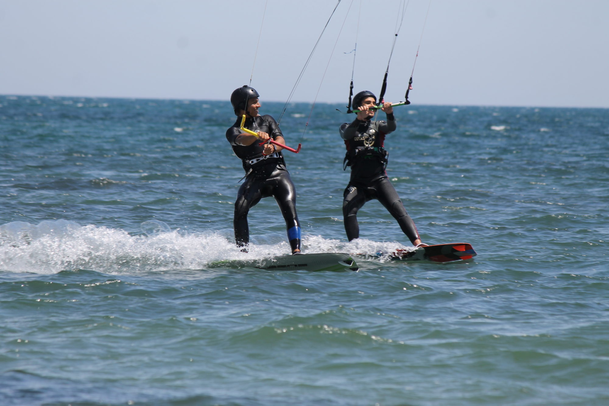 Sardinia Kitesurfing Spots: Kitesurfing Petrol Beach, kite spot close to Cagliari perfect with the thermal wind