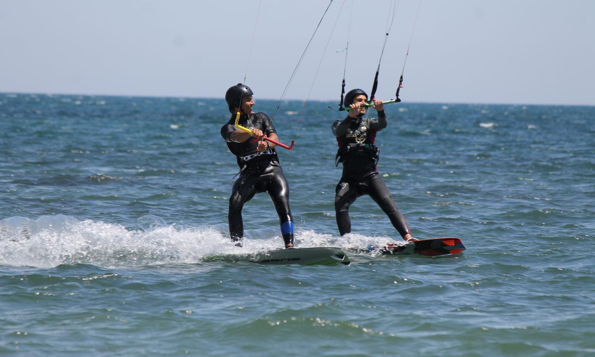 Kitesurfing lessons in Petrol Beach Sardinia