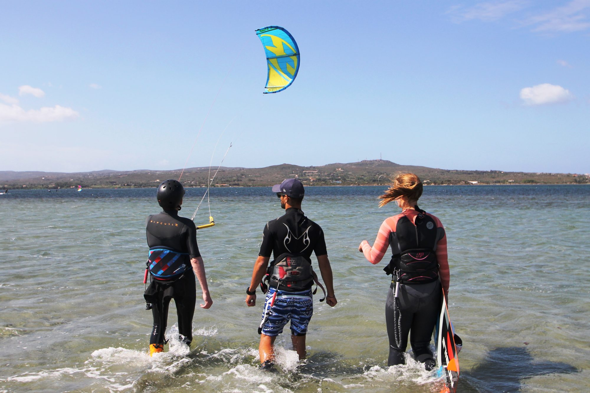 Kite Lessons with a Kite Personal Trainer in Sardinia