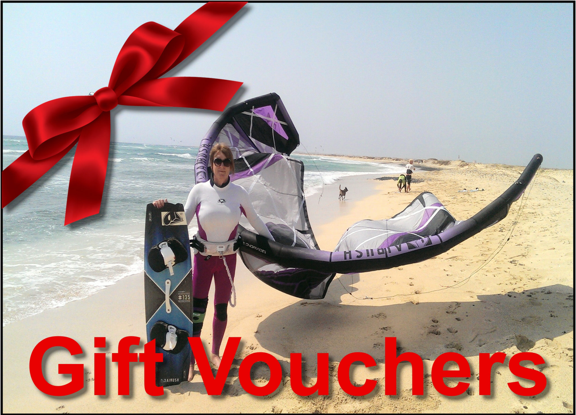 Kitesurfing Gift Voucher:for a Fantastic Event, Christmas, Birthday, Wedding and a Great Experience in Sardinia