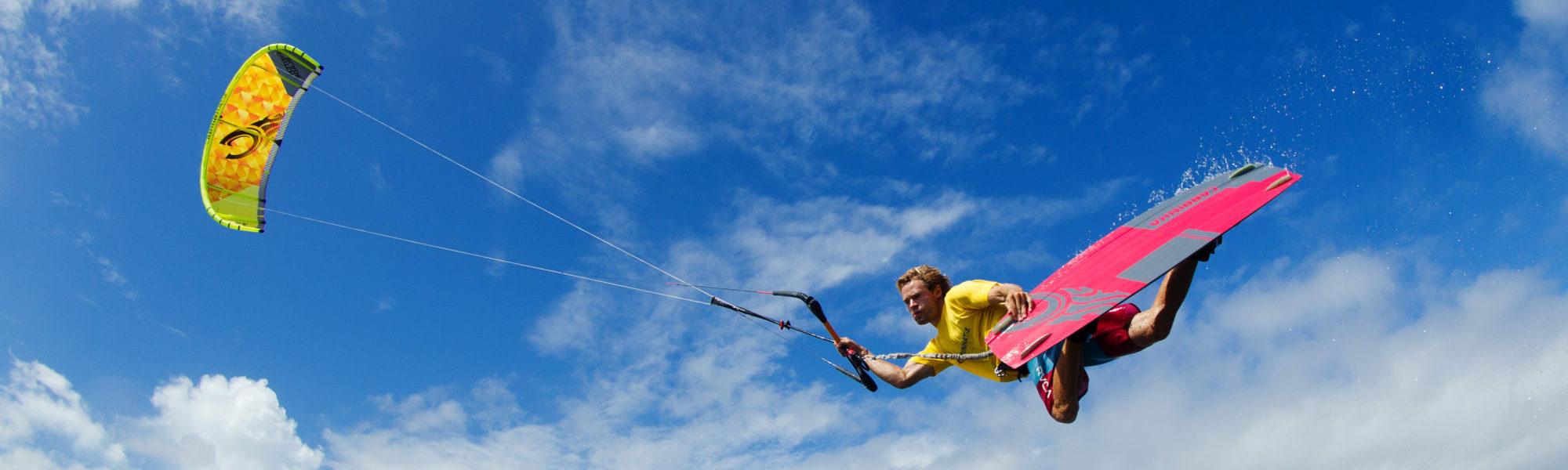 Kitesurfing Chia, Sardinia