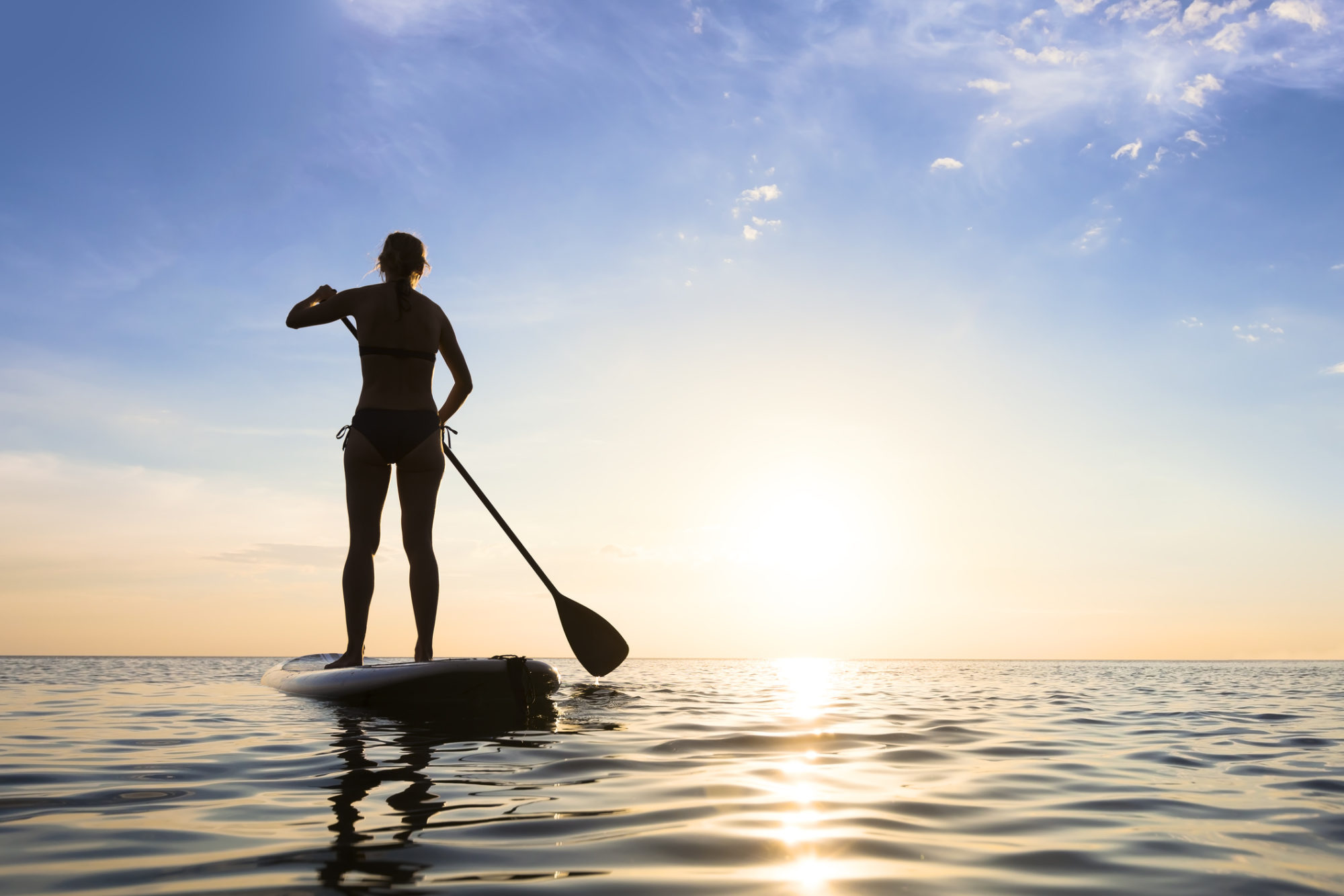 Stand Up Paddle Board Hire in Sardinia
