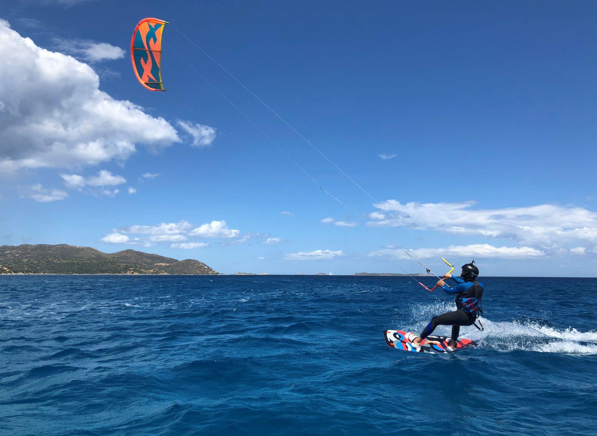 Kite Course in Villasimius, Sardinia