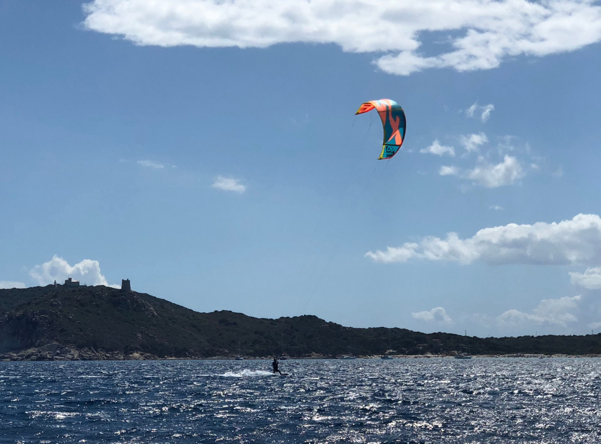 Kitesurfing Villasimius, Sardinia. Kite Course and Kite Lessons in Villasimius