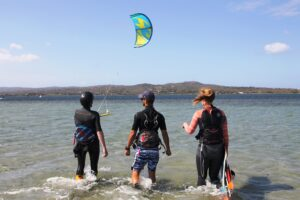 Kitesurf Holiday for Solo Travelers in Punta Trettu Sardinia