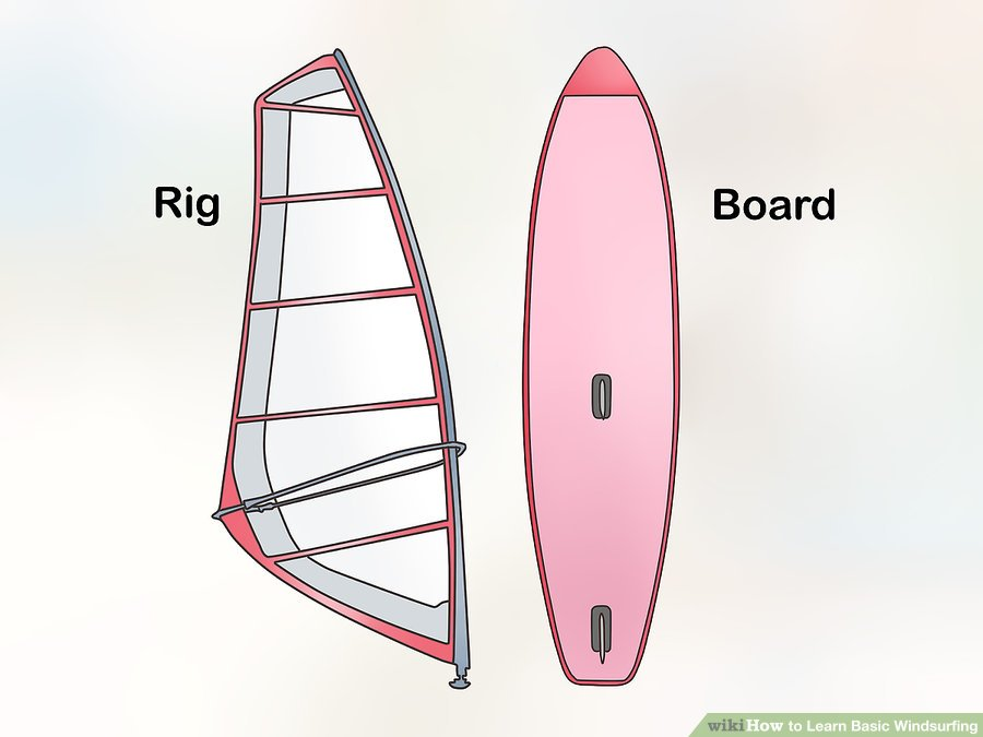Learn to Windsurf, Step 1: Board and Rig