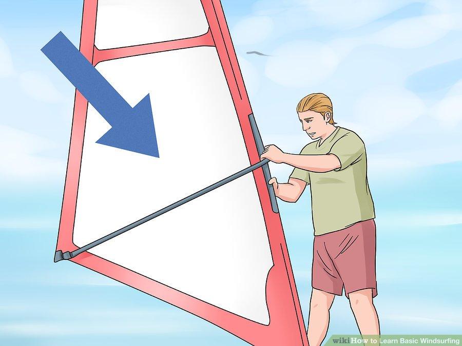 Learn Windsurfing Step-09 - Windsurf Basic of Starting Practice steering