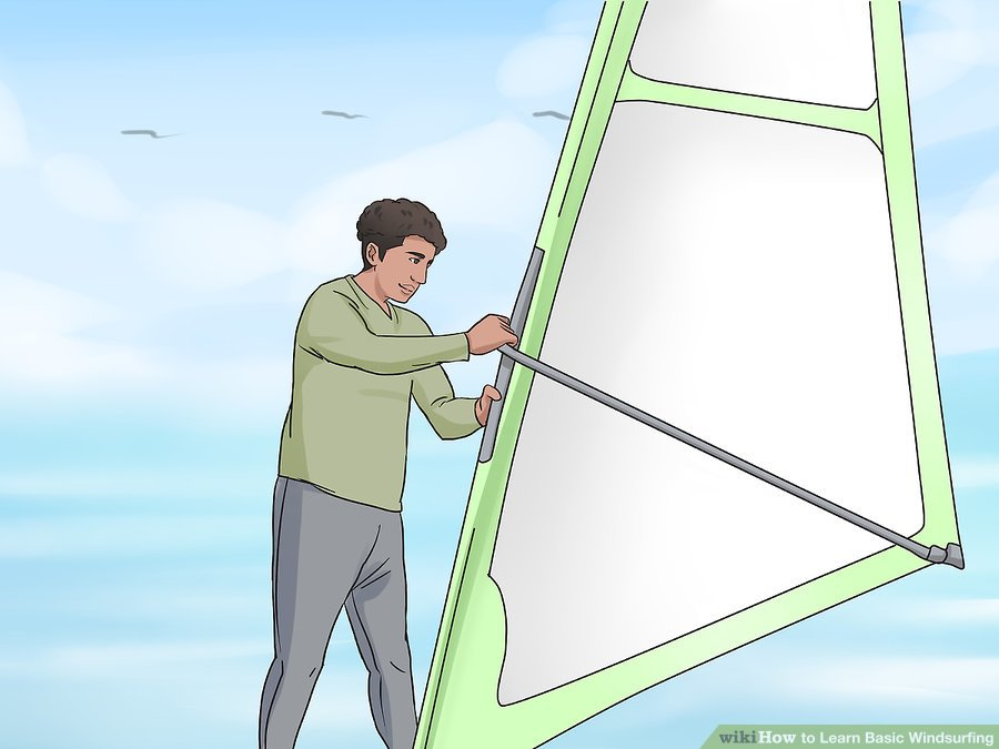 Learn Windsurfing Step-13 - Windsurf Basic of Starting Stop and Relax