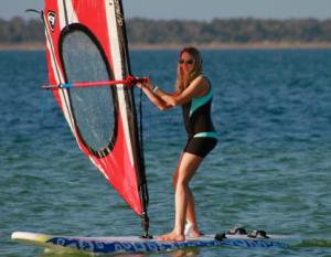 Windsurfing Lessons in Punta Trettu Sardinia