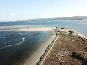 Punta Trettu Best Kitesurfing Spot in Sardinia