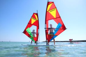 Windsurfing Lessons in Sardinia with KiteGeneration