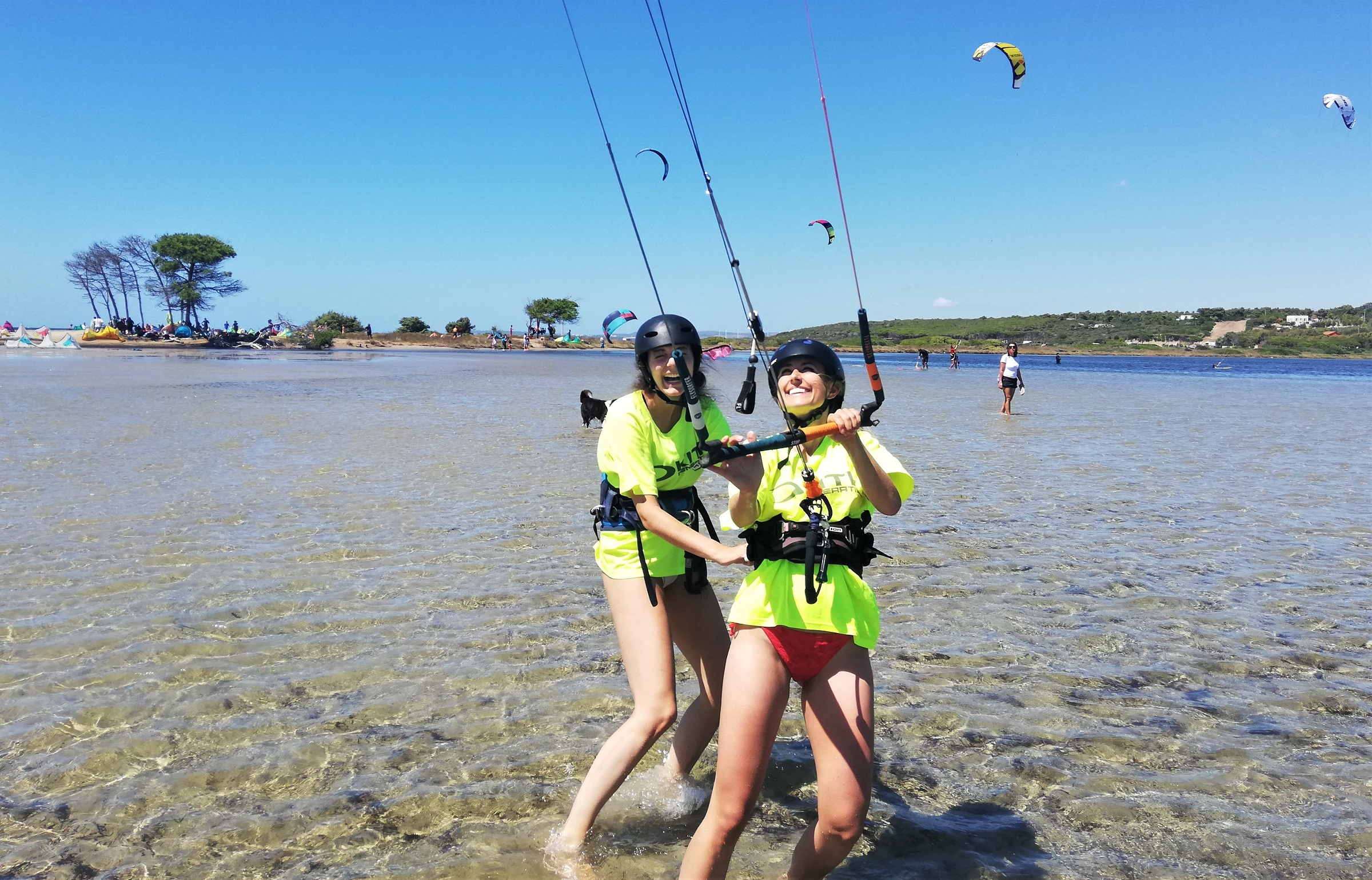 Enjoying Kite Lessons in Punta Trettu, the Best Kite Spot of Sardinia