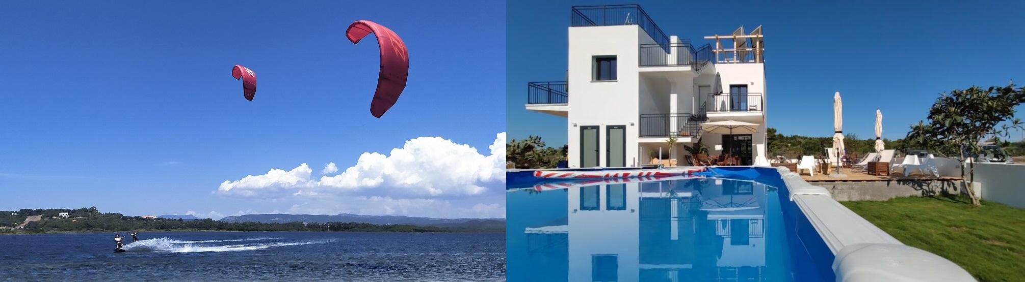 Kite Rental and Accommodation in Punta Trettu, the best Kite Spot